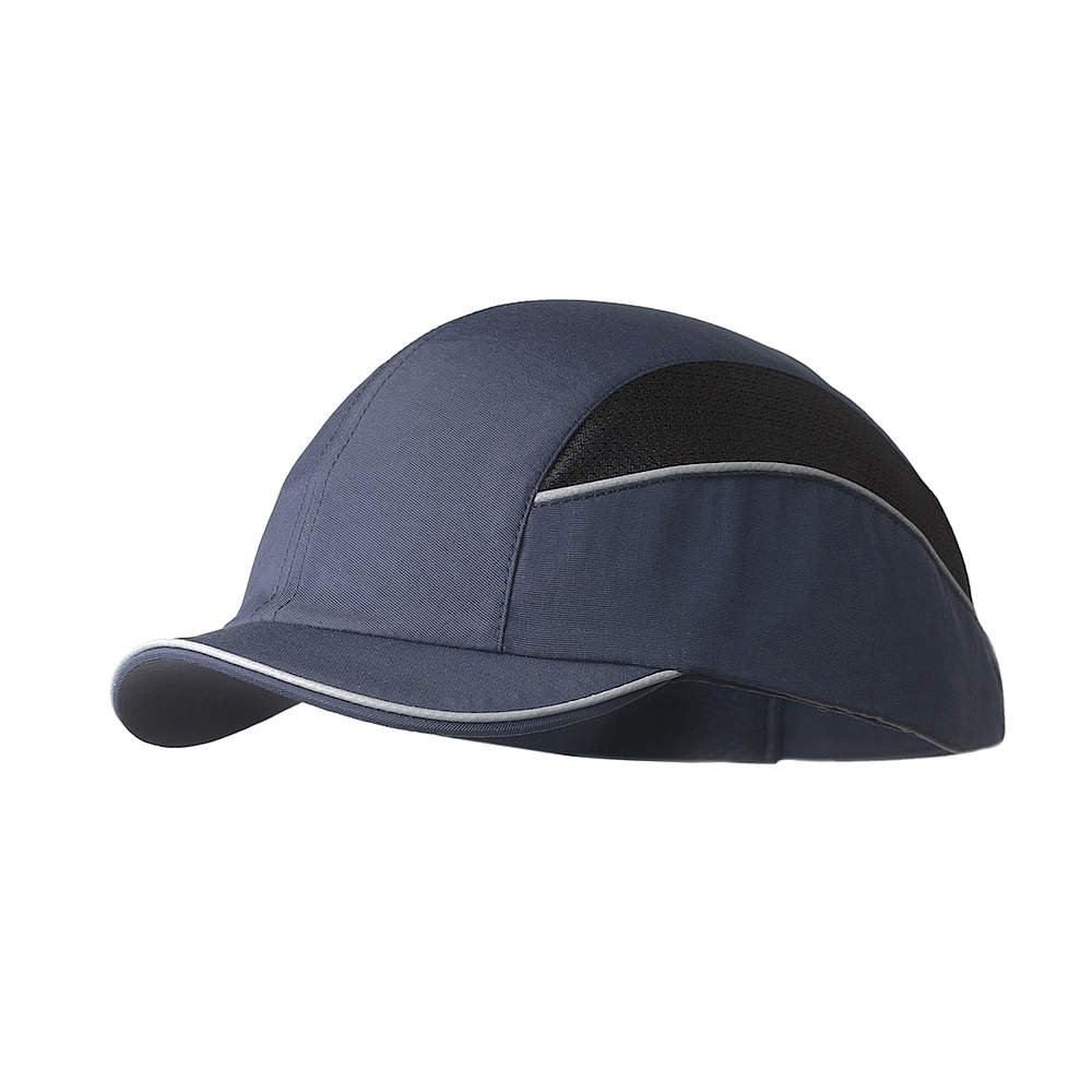 Gorra Seguridad / Casquete Antigolpes para proteger de impactos como piedras, Ramas, Casco interior ABS con almohadilla EVA. Pro Gorra anti-choque EN 812 A1 ...