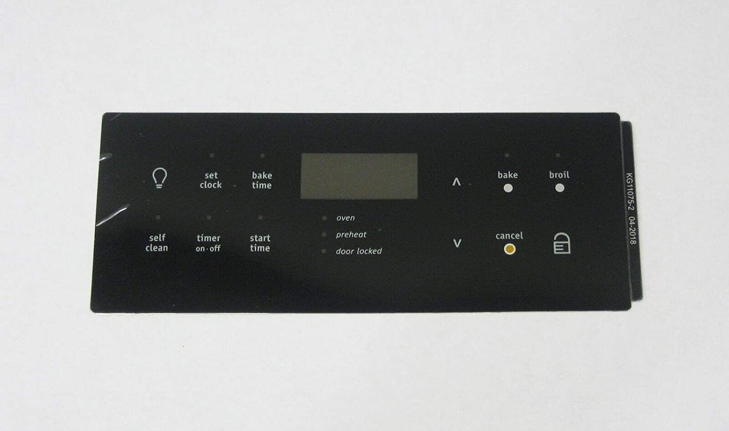 Oven Clock Overlay Pad 316419339 for Electrolux Frigidaire ERC Range Control
