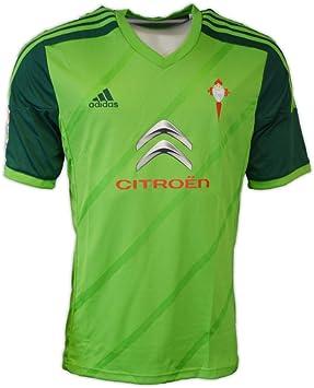 Adidas R.C. Celta de Vigo Segunda Equipación 2014, Camiseta, Verde, Talla L: Amazon.es: Ropa y accesorios