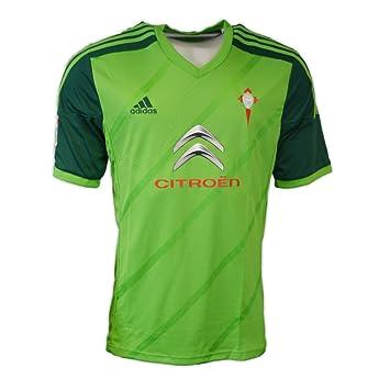 adidas Camiseta R.C. Celta de Vigo Away 2014 Verde Talla M: Amazon.es: Deportes y aire libre