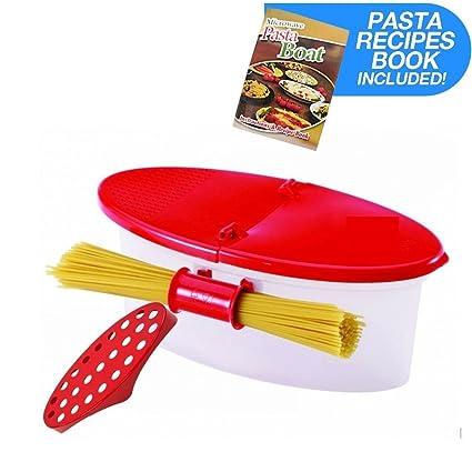 Amazon Hot Pasta Boat Versatile Microwave Pasta Cooker