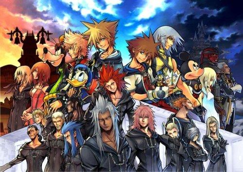 Kingdom Hearts II Final Mix+ Jigsaw Puzzle by Tenyo