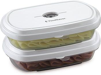 2-Pack FoodSaver Deli FreshSaver Vacuum Storage Containers
