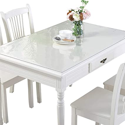 Amazon Com F Nice Custom Thick 1 5mm Clear Pvc Table Cover