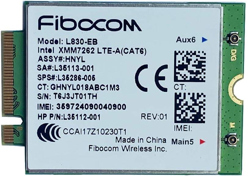 Sodial L830 Eb 4lte Wwan Card For L35286 005 Xmm 7262 Elektronik