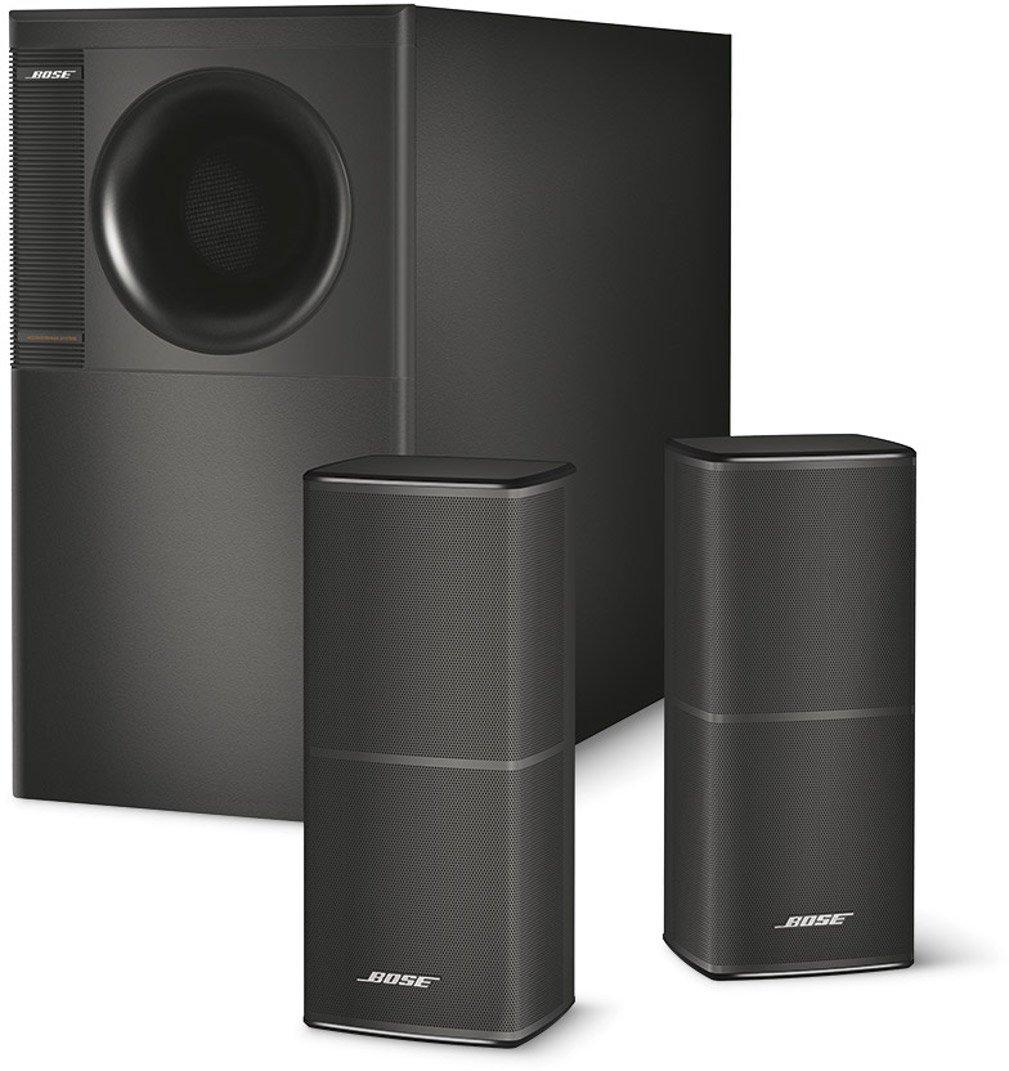 bose acoustimass 5 black stereo speaker home entertainment. Black Bedroom Furniture Sets. Home Design Ideas