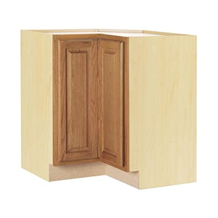 Hampton Lazy Susan Corner Base Cabinet With Two