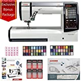 Janome Horizon Memory Craft 12000 Embroidery and Sewing Machine with Bundle