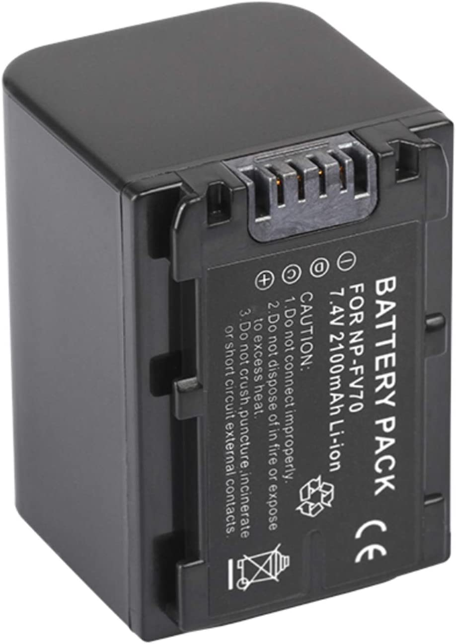 PXW-X70 HXR-MC50U HXR-MC50E PXW-Z90V Camcorder Rechargeable Li-ion Batteries for Sony HXR-MC50 PXW-Z90 HXR-MC50P HXR-MC50N