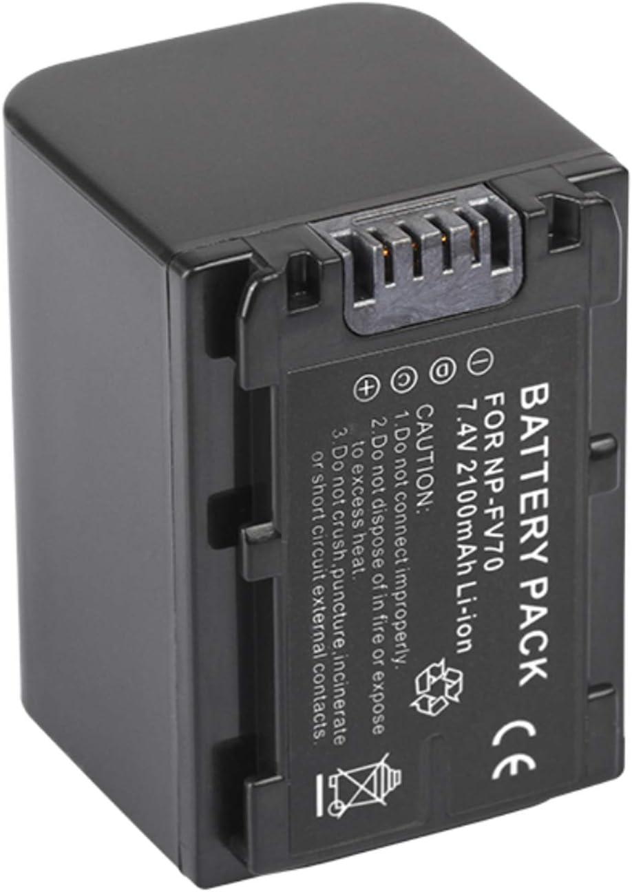 HDR-TD30VE Handycam Camcorder HDR-TD10E HDR-TD20V Rechargeable Li-ion Batteries for Sony HDR-TD10 HDR-TD30V HDR-TD20VE