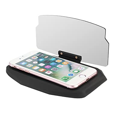Universal de coche HUD Head Up Display Soporte GPS Navegación imagen reflector para smartphones