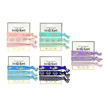 Corbatas de pelo de sirena, 30 piezas coloridas para el ...