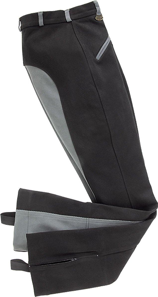 USG Damen Jodhpur Reithose Birgit Leder Full Patch Zwei schr/äg vorne Taschen mit mit bottometer