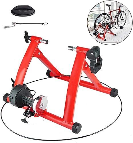 Rodillo Bicicleta Montaña El Sonido Es Pequeño Rodillo Bici para Spinning, Ejercicio, Fitness Y Entrenamiento,Rojo: Amazon.es: Deportes y aire libre