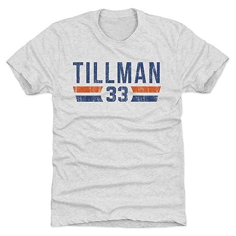 500 LEVEL Charles Tillman Triblend Shirt Small Tri Ash - Vintage Chicago  Football Men s Apparel - 1d2793a3e