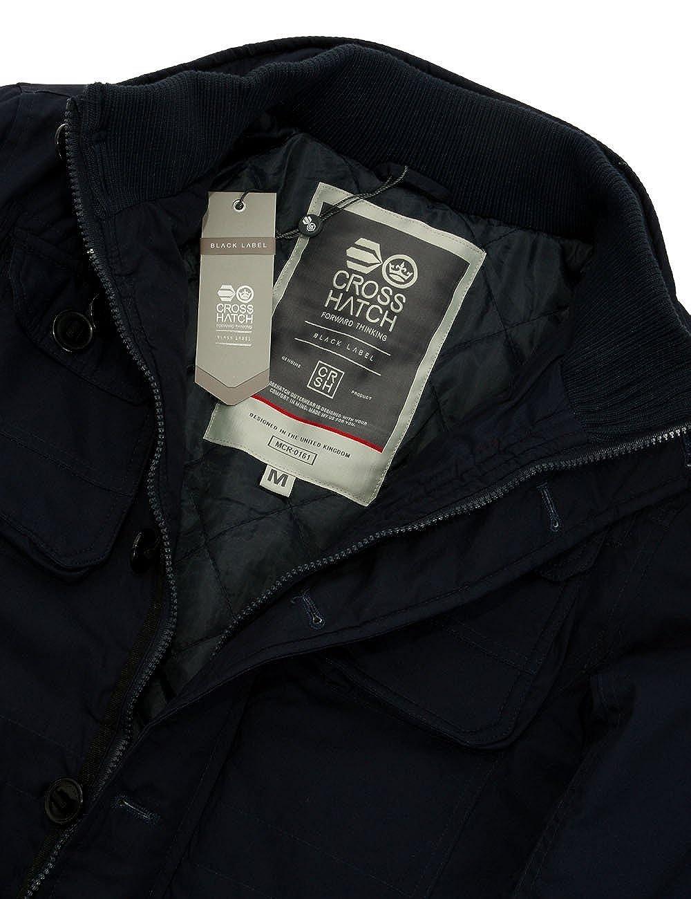 CrossHatch Herren Winter Field Jacket Lysters