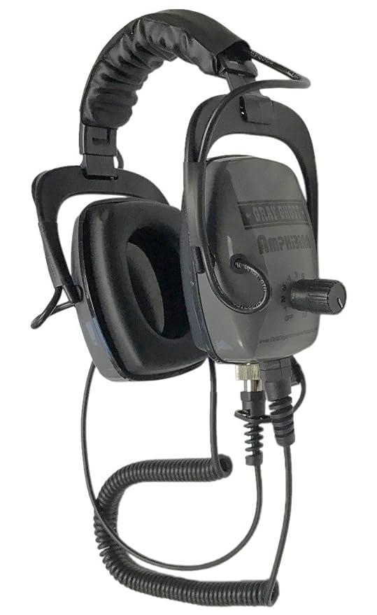 Gray Ghost auriculares de anfibios para Garrett AT Pro Detector de metales