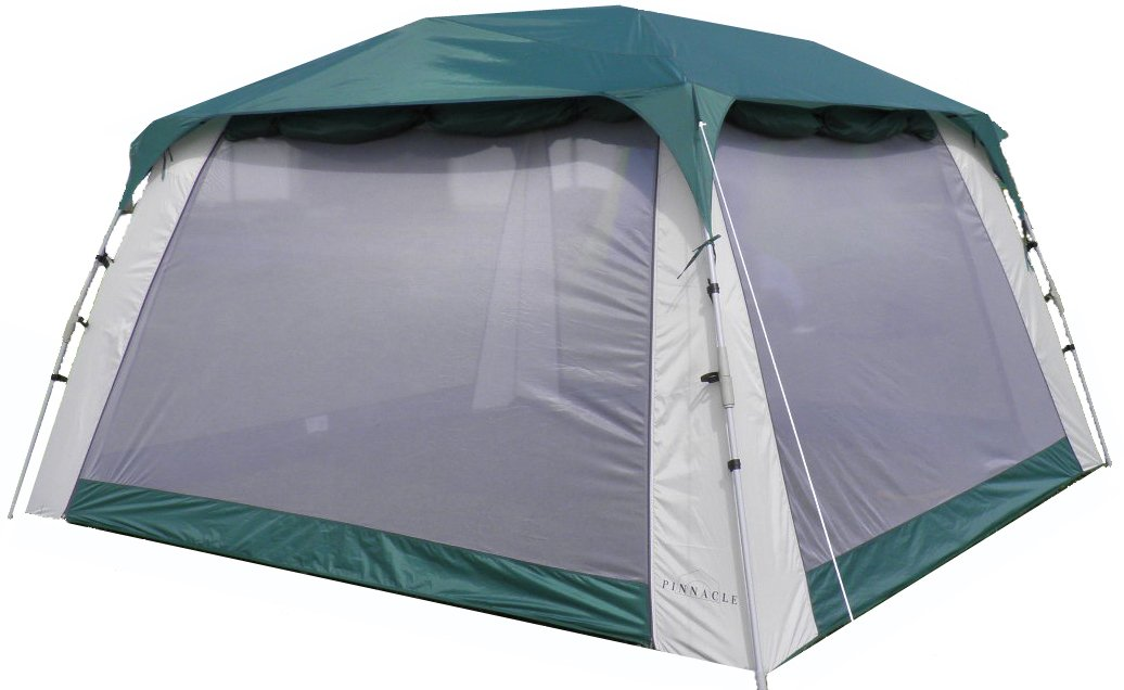 Screen Tent with Awnings and Side Walls - Pinnacle Tents Quick Set
