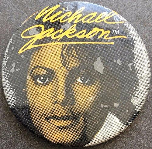 VINTAGE MICHAEL JACKSON PINBACK BUTTON GREAT ()