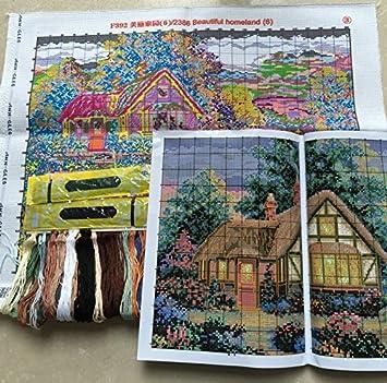 Joy Sunday Cross Stitch Kits,Flower Style,Yellow Chrysanthemum,11CT Counted 39cm/×91cm or 15.21/×35.49