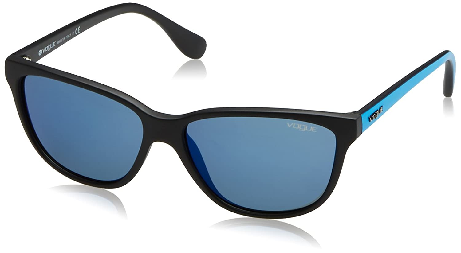 Vogue Cat Eye Black Sunglasses Vogue-VO2729S-W44-55: Amazon.in: Clothing &  Accessories