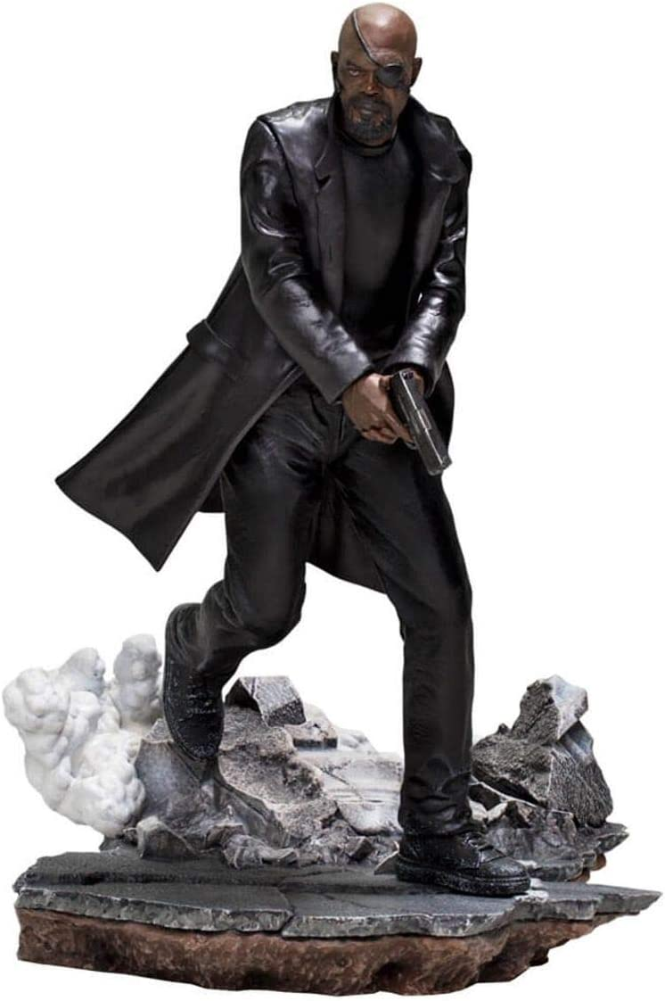 Nick Fury Spider-Man Far from Home 1/10 Scale