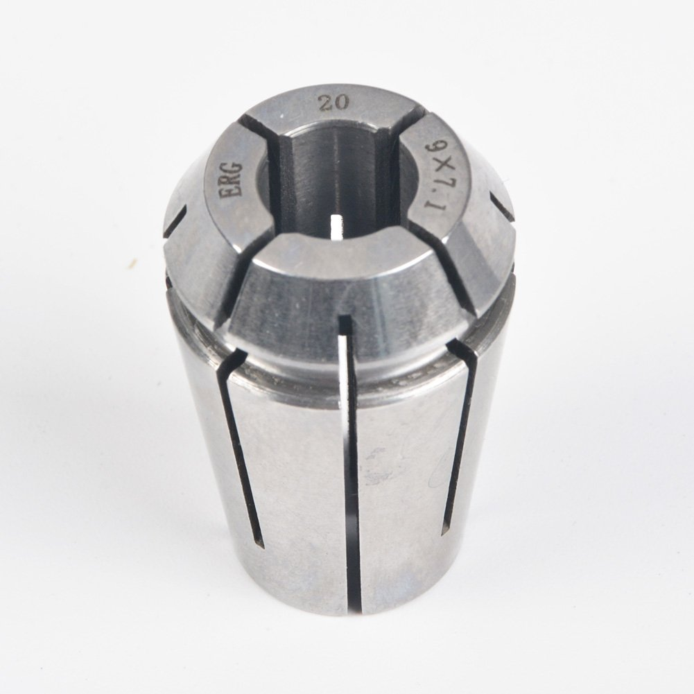 ERG20 9×7.1 Advanced Formula Spring Steel Collet Sleeve Tap,For Lathe CNC Engraving Machine & Lathe Milling Chuck