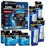 Fluval FX4 Filter w/Filter Foam & Filter Pad (12 Month Supply)