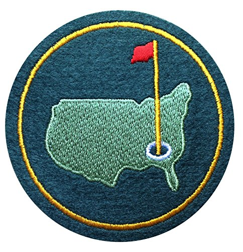 Masters Green Tournament Jacket Patch