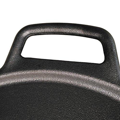ROYAL KASITE Preseasoned Cast Iron Pizza Pan,14.8-Inch by ROYAL KASITE (Image #7)