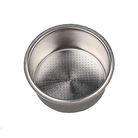 Amazon.com: Filtro de café de acero inoxidable, doble taza ...