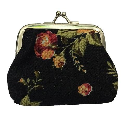 Amazon.com  King Ma Women s Vintage Style Floral Mini Cute Canvas ... 8259cebd1