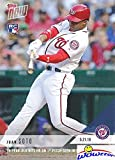 Juan Soto 2018 Topps Now #235 FIRST EVER PRINTED TOPPS ROOKIE Card in Mint Condition with RC Logo! Shipped in Ultra Pro Top loader! Awesome ROOKIE Card of Washington Nationals 19 Yr old Future Star!