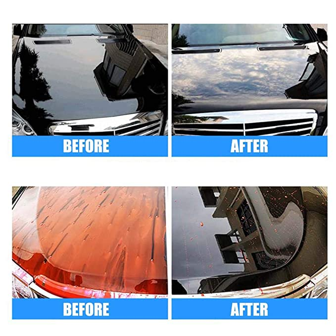 azurely Revestimiento , Car Glass Glass Pulido Pulido Descontaminación Belleza Cera Recubrimiento Pintura Cuidado Tratamiento Hidrófobo para Parabrisas ...