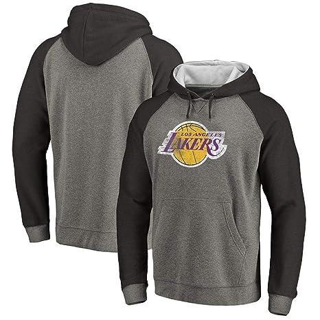 premium selection e7d6e f6133 Amazon.com : Hoodie, L.A Lakers James Jersey Hoodie Letter ...