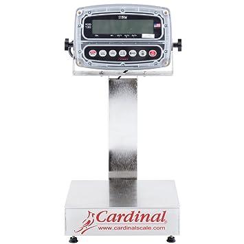 Cardinal Detecto eb-15 - 190 15 libras. Báscula electrónica (con indicador de 190, Legal Para El Comercio: Amazon.es: Hogar