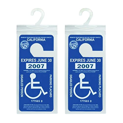 Handicap Placard: Amazon.com
