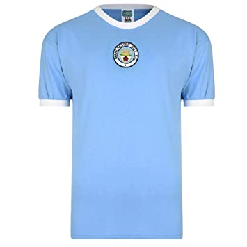 d57991c0666 Man City Retro Shirt  Amazon.co.uk  Sports   Outdoors