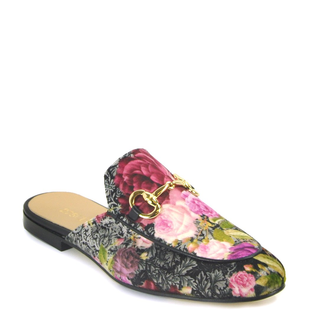 275 Central - 784 - Floral Printed Mule, Pink 40 Medium by 275 Central (Image #1)