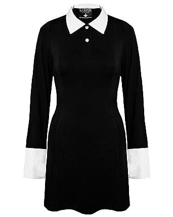 Wednesday addams black dress