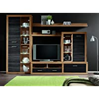 Can-Can-5 Anbauwand Satin/Touchwood