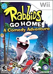 Rabbids Go Home - Wii Standard Edition