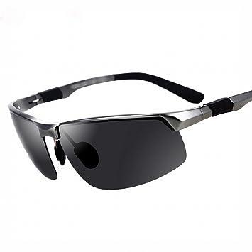 LMB Gafas de Sol Hombres Gafas Polarizadas Aluminio Magnesio Gafas de Sol Personalidad Hipster Conducción Al