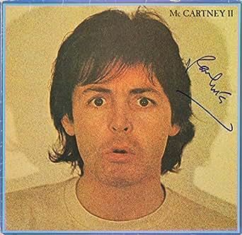 Paul McCartney Signed Album Cover W/ Vinyl Auto Graded Mint 10! PSA ITP #3A43087