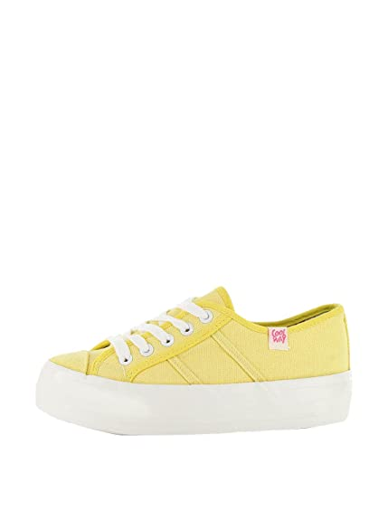 Coolway Zapatillas Madel Amarillo EU 36: Amazon.es: Zapatos y complementos