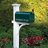 Good Directions Lazy Hill Farm Designs 999191 Sovereign Mailbox Post