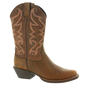 Justin Boots Men's Stampede 2571 Waxy Brown 8 EE