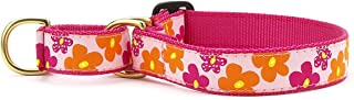 product image for Up Country Flower Power Martingale Dog Collar - Large (13.5-22.5 Inches) - 1 in Width