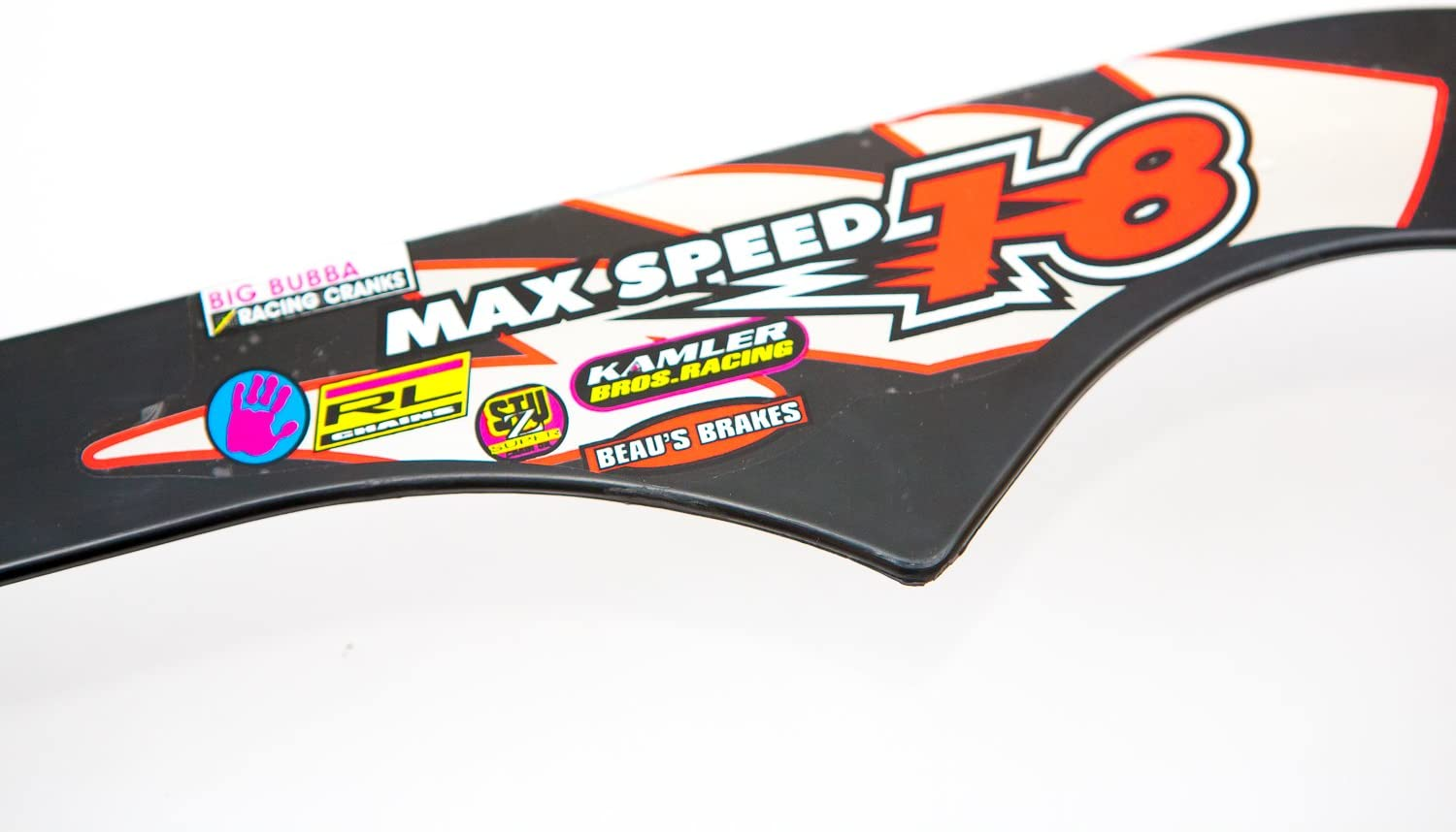 BLACK FireCloud Cycles MAX SPEED 18 KIDS Bike CHAIN GUARD for 12 WHEELS NEON PINK Design NEW