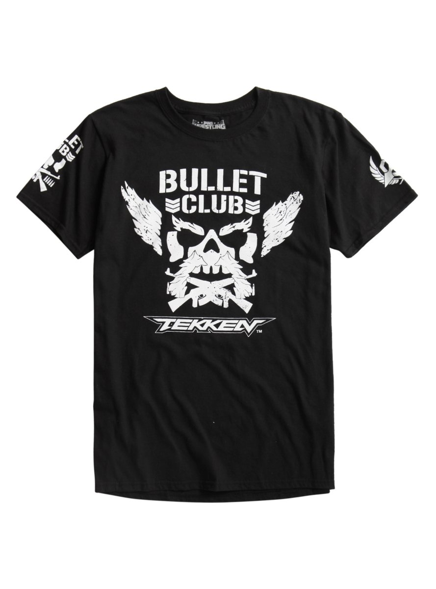 New Japan Pro-Wrestling Bullet Club X Tekken T-Shirt by Hot Topic